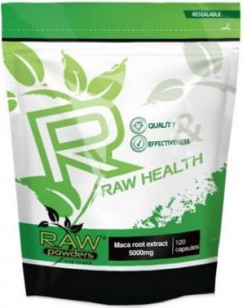 Raw Powders Maca Radacina Extract 10 1 5000mg 120 Capsule