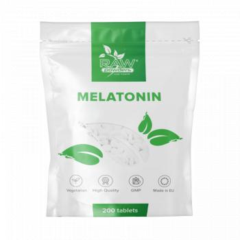 Raw Powders Melatonina 1mg 200 Tablete