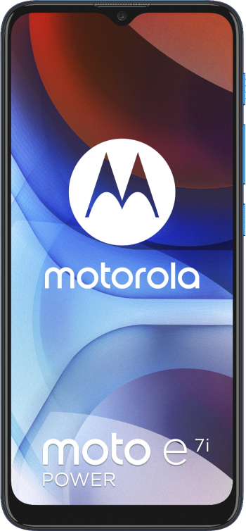 Telefon mobil Dual SIM Motorola Moto E7i Power Octa Core 1.6 GHz 32GB + 2GB RAM Blue