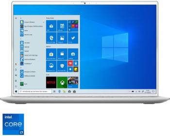 Laptop Dell Inspiron 7400 Intel Core (11th Gen) i7-1165G7 1TB SSD 16GB MX350 2GB QHD+ Win10 FPR Tast. ilum. Silver