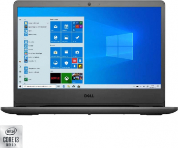 Laptop Dell Vostro 3401 Intel Core (10th Gen) i3-1005G1 256GB SSD 8GB FullHD Win10 Pro
