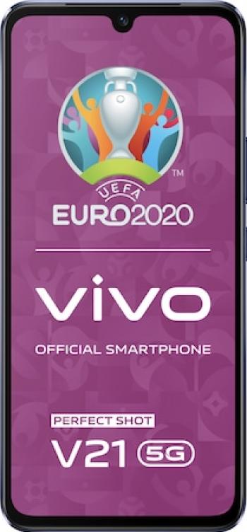 Telefon mobil Vivo V21 128GB Dual SIM 5G Dusk Blue