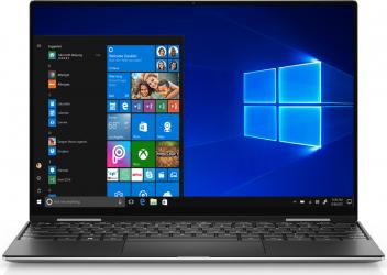 Ultrabook Dell XPS 13 9310 Intel Core (11th Gen) i7-1185G7 1TB SSD 32GB Iris Xe UltraHD+ Touch Win10 Pro FPR Tast. ilum. Platinum Silver