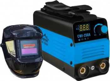 Invertor de sudura MMA Campina CWI-250A 250 A AKT + Masca de sudura heliomata