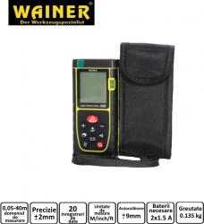 Telemetru laser 40m WAINER LM1