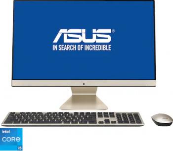 Desktop All-In-One ASUS V241EAK Intel Core (11th Gen) i5-1135G7 512GB SSD 8GB Intel Iris Xe FullHD Mouse+Tastatura