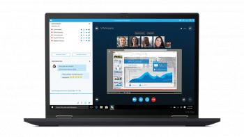 Laptop 2in1 Lenovo Thinkpad X13 Yoga Gen 2 Intel Core (11th Gen) i7-1165G7 512GB 16GB Intel Iris Xe QHD Touch Win10 Pro FPR T.Ilum. Negru