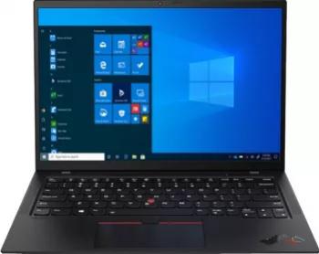 Laptop Lenovo ThinkPad X1 Carbon Gen 9 Intel Core (11th Gen) i7-1165G7 512GB 16GB Intel Iris Xe FullHD+ Win10 Pro FPR T.Ilum. Negru