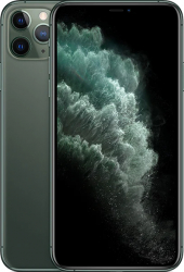 Telefon mobil Apple iPhone 11 Pro Max 64GB Midnight Green 4G Refurbished Premium Grade