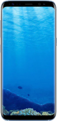 Telefon Mobil Samsung Galaxy S8 G950F 64GB 4G Coral Blue Refurbished Premium Grade