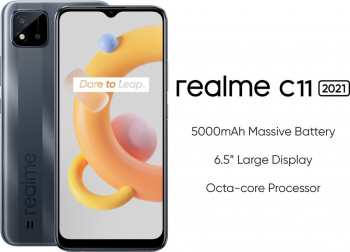 Telefon mobil Realme C11 Dual SIM 3GB RAM 32GB 4G Pepper Gray