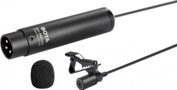 Lavaliera Microfon BOYA BY-M440D Omnidirectional cu XLR
