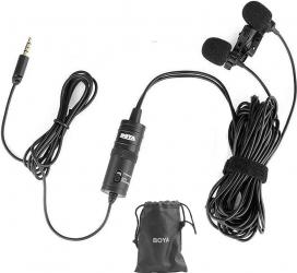 Microfon lavaliera digitala duala BOYA BY-M1DM