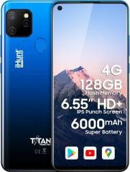 Telefon mobil iHunt Titan P6000 Pro 2021 128GB Dual SIM 4G Blue