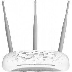 Acces Point TP-Link Wireless 300Mb/s cu 3 antene omnidirectionale detasabile de 4dBi frecventa 2.4-2.4835GHz