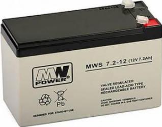 Acumulator cu gel MW 7.2-12 12V 7.2Ah