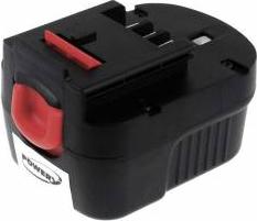 Acumulator compatibil Black and Decker model Slide Pack FIRESTORM A12 2000mAh