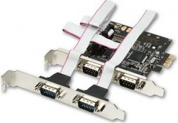 Adaptor AXAGON PCI-Express 4x Serial Port