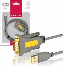 Adaptor AXAGON USB2.0 Serial RS-232 DB9 HQ 1.5 m