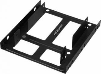 Adaptor Dual SSD-HDD Axagon RHD-225 2.5 inch la 3.5 inch Negru
