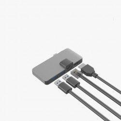 Adaptor USB Type C la HDMI 2 x USB 3.0 si Ethernet LAN Internet Accesorii Diverse