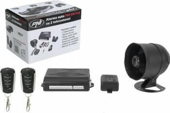 Alarma auto PNI OV288 cu 2 telecomenzi si modul inchidere centralizata Alarme auto si Senzori de parcare