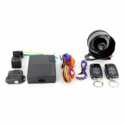 Alarma Auto Carguard CAR002 cu 2 telecomenzi senzor de shock reglabil Alarme auto si Senzori de parcare