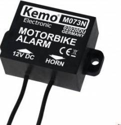 Alarma moto KEMO M073N alimentare 12V pentru motociclete scootere biciclete electrice Alarme auto si Senzori de parcare