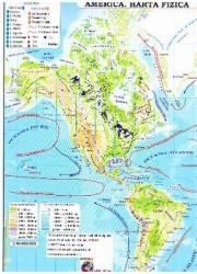 America - Harta Fizica + Harta Politica 1 46.000.000 pliata Harti