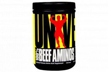 Aminoacizi 100 Beef Aminos Universal Nutrition 200 tablete Vitamine si Suplimente nutritive