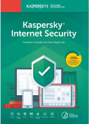 Antivirus Kaspersky Internet Security 3 Dispozitive 1 an Box Antivirus
