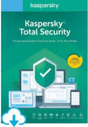 Antivirus Kaspersky Total Security 5 Dispozitive 2 ani Reinnoire electronica