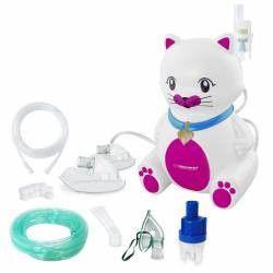 Aparat aerosoli Esperanza Kitty PRO nebulizator cu compresor 3 masti furtun 6 m Cantare, termometre si aerosoli