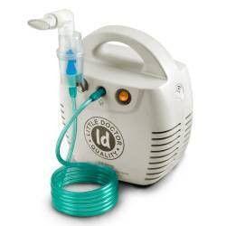 Aparat aerosoli Little Doctor LD 211C alb nebulizator cu compresor 3 dispensere 3 masti Cantare, termometre si aerosoli