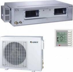 Aparat de aer conditionat Gree GFH18K3FI-GUHD18NK3FO 18.000 BTU Clasa A+ Inverter Inox Aparate de Aer Conditionat