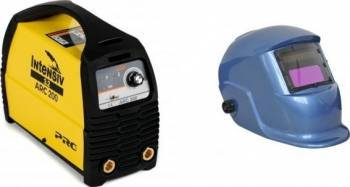 Aparat de sudura tip invertor Intensiv ARC 200 VRD + Masca cristale BLUE