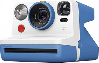 Aparat foto instant Polaroid Now i-Type Polaroid 600 Albastru Aparate foto compacte