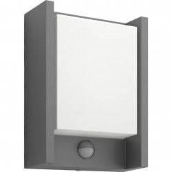 Aplica LED integrat pentru exterior Philips myGarden Arbour cu senzor miscare 1x6W 600 lm 4000K Gri inchis Corpuri de iluminat
