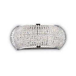 Aplica PASHA 082264 Ideal Lux cromat 3 x 40W G9 Corpuri de iluminat