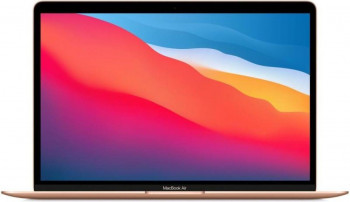 Apple MacBook Air 13 Apple M1 256GB SSD 8GB Apple M1 7-core GPU Retina macOS US Gold Laptop laptopuri
