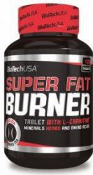 Arzator de grasimi Biotech Super Fat Burner 120 tablete Vitamine si Suplimente nutritive
