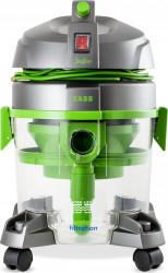 Aspirator cu filtrare prin apa Zass ZVC 06 7.5 L 800 W HEPA Verde-Argintiu Aspiratoare