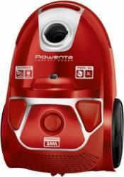 Aspirator cu sac Rowenta Compact Power parquet RO3953EA Tub telescopic din metal Sac Hygiene+ Rosu