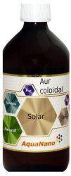 Aur Coloidal AquaNano Solar 55ppm 200ml Aghoras
