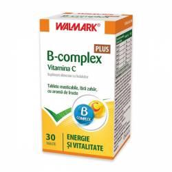 B Complex + Vitamina C Plus Walmark 30tb
