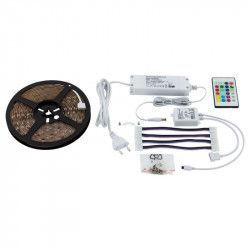 Banda LED LED STRIPES-FLEX 97928 LED-RGBW 20W L 5000 l 10 H 3 1000 Lumeni 3000K RGB+Calda Plastic / Transparent