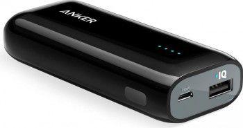 Baterie externa Anker A1211H16 PowerCore Astro 5200 mAh Black