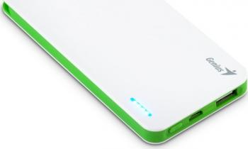 Baterie Externa Genius Power Bank ECO-U306 3000mAh Alba