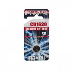 Baterie tip buton CR1620 MAXELL Alarme auto si Senzori de parcare