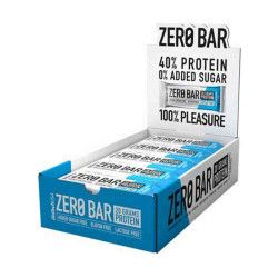 Batoane proteice fara zahar Zero Bar Protein BioTechUSA Cutie 20x50g Aroma Chocolate Coconut Suplimente fitness